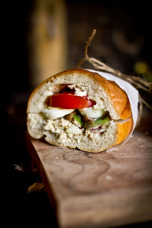 Adventures in Cooking: Pan Bagnat (Tuna Nicoise Sandwich) I want to ...