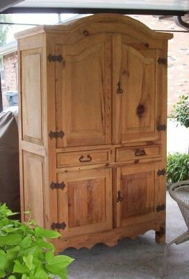 Pine Mexican armoire | Ideas for our Mexican house | Pinterest