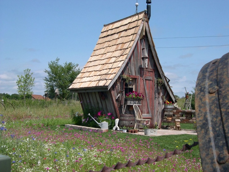 Whimsical Shed Shed It Pinterest