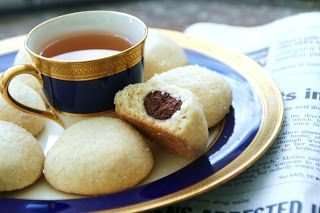 Nutella filled shortbread cookies | Naughty sweet deliciousness | Pin ...