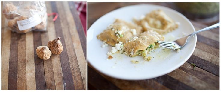 Naturally Ella | Brussel Sprout, Fig, and Feta Ravioli