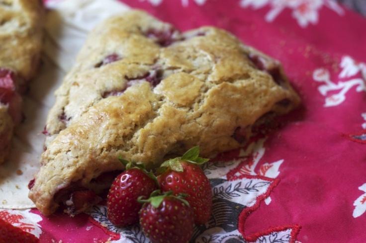 Strawberry Scones!!!   Rockin' Recipes   Pinterest