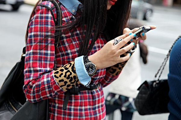 PLAID. Leopard. Chambray.