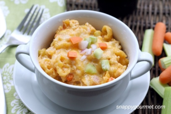 ... Mac & Cheese - In the slow cooker. A new twist on a mac & cheese