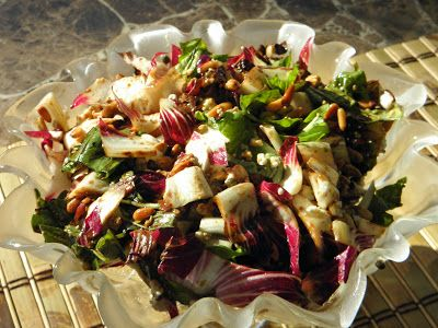 Grilled Radicchio Salad- FoodworksAndMore - Richard Jeske
