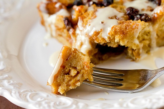 Bourbon Bread Pudding with Bourbon Sauce. Homemade Bread Pudding ...