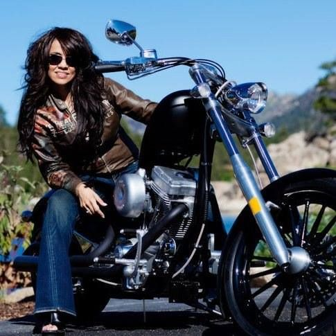 biker chick MEMES