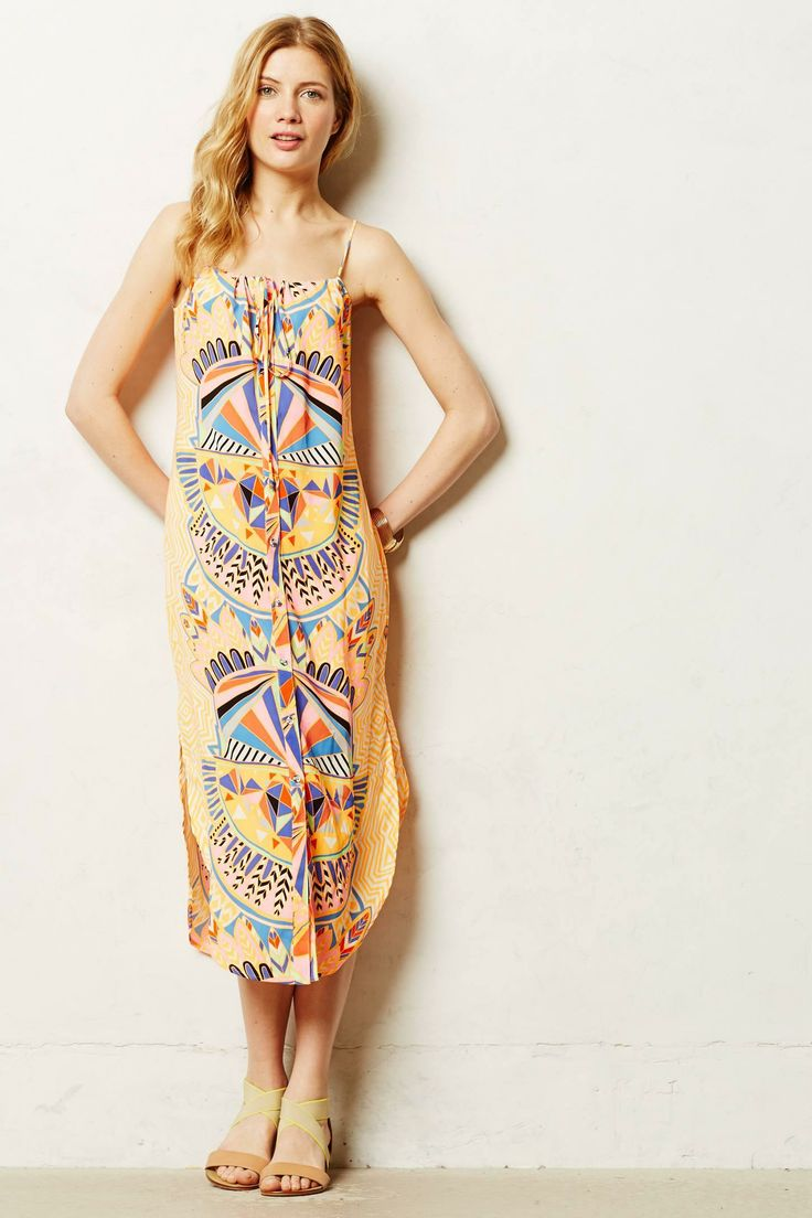 Pin by lindsay mocko wiley on closet dreams pinterest for Anthropologie mural maxi dress