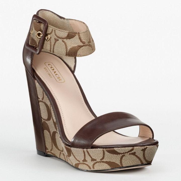 small handbags coach wedge sandals
