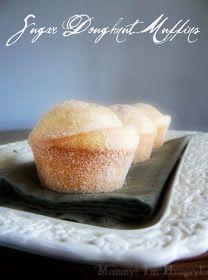 Gluten-free! Sugar Doughnut Muffins. Made with Bob's Red Mill Gluten ...