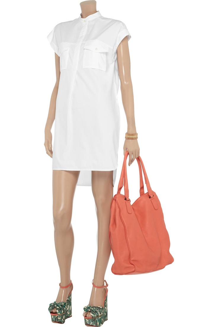 Joseph Glasto cotton-poplin shirt dress - 66% Off Now at THE OUTNET
