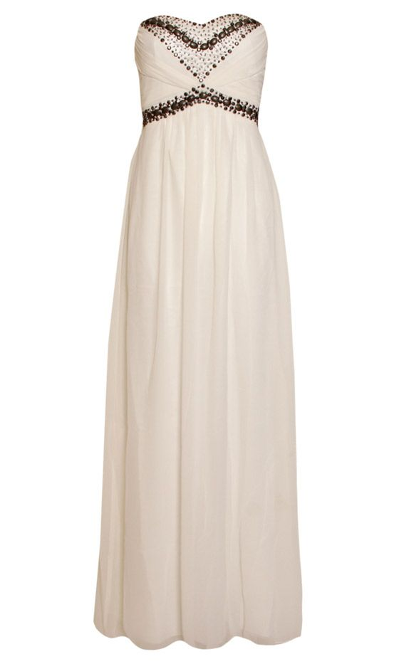 Prettylittlething.co.uk White Maxi Dress   2 become one - not a show ...