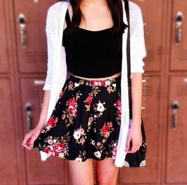 Hipster outfits with skirts