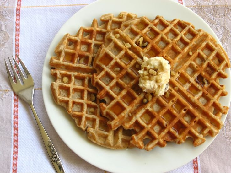 Banana Bread Waffles   Breakfast Yummies   Pinterest