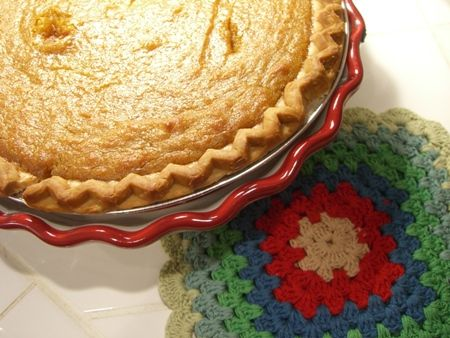Sweet Potato Pie--I think my son in law would think this yummy.