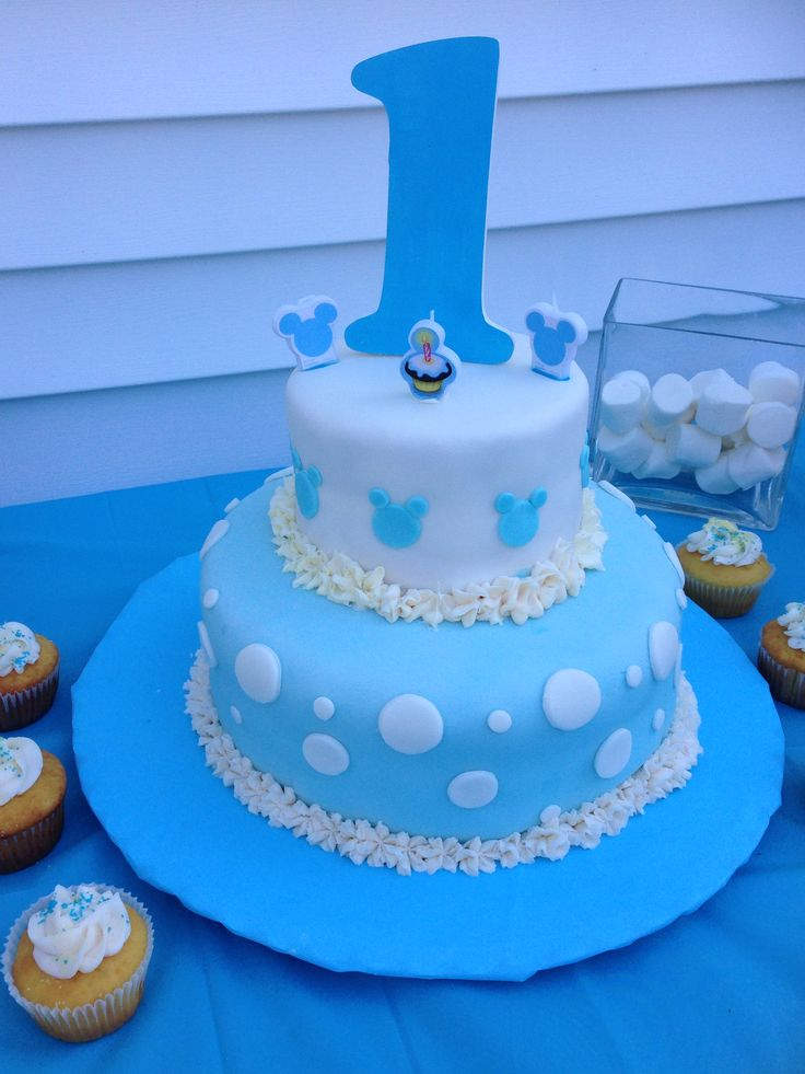 Baby Mickey cake | Ohhmysweets decorations