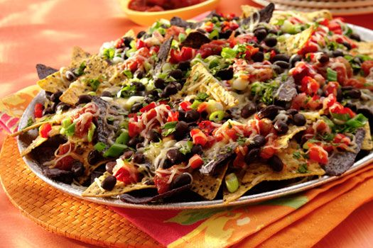 Cheese & Black Bean Nachos | Sargento Cheese Great for your Halloween ...