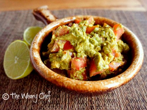 Minute Guacamole - Avocado, lime, tomato, and a few ingredients from ...