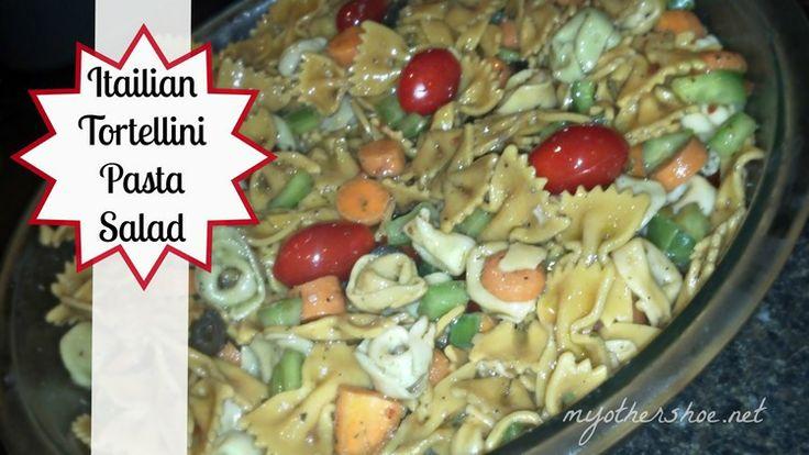 Italian Tortellini Pasta Salad | yumm... Salads! | Pinterest