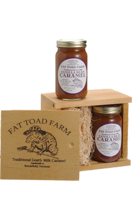 Fat Toad Farm Vanilla Bean Caramel | VERMONT | Pinterest