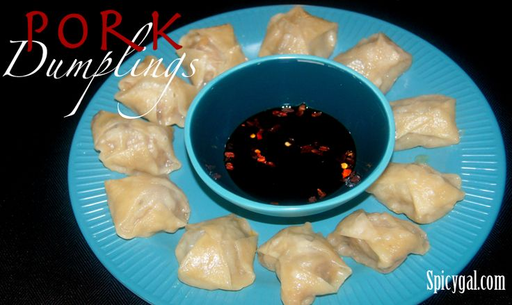 ... and so easy to make! Asian pan seared pork dumplings. #WeightWatchers