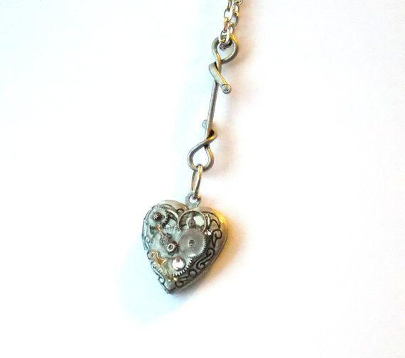 valentine heart necklace craft