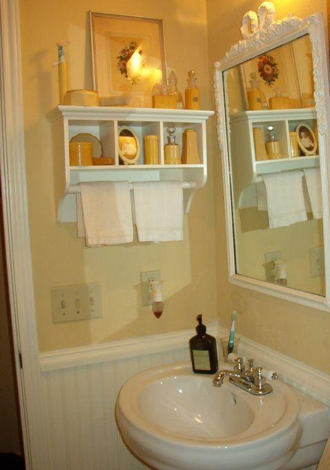 Cute powder room home ideas pinterest - Cute guest bathroom design ideas ...