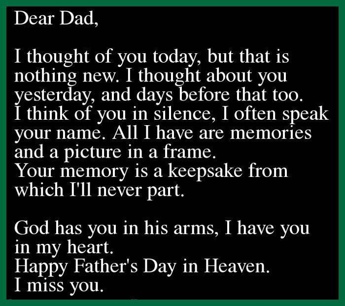 father's day sad quotes