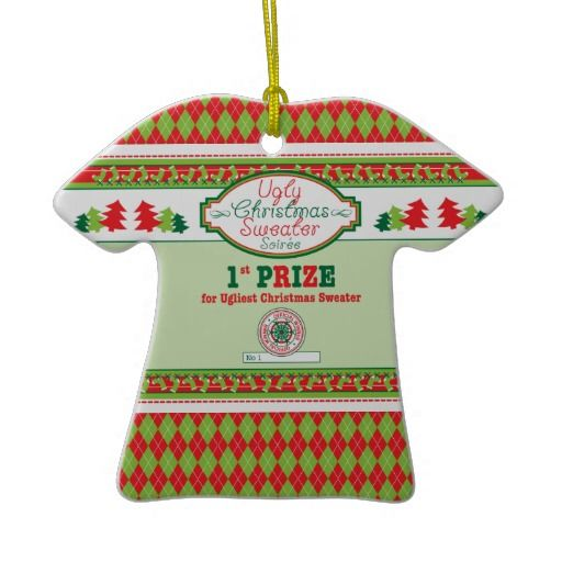 Ugly christmas sweater party prizes