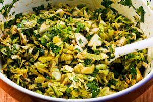 Kalyn's Kitchen®: Recipe for Spicy Cilantro-Peanut Slaw