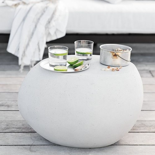 Pebble Side Table West Elm Simple And Serene Pinterest