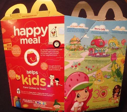 Mcdonalds Meals Mcdonald's Happy Meal