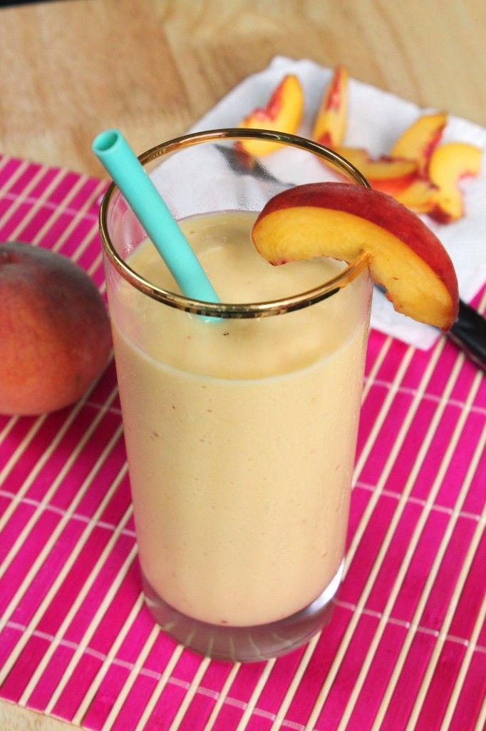 Peach-Mango Smoothie | Smoothies | Pinterest