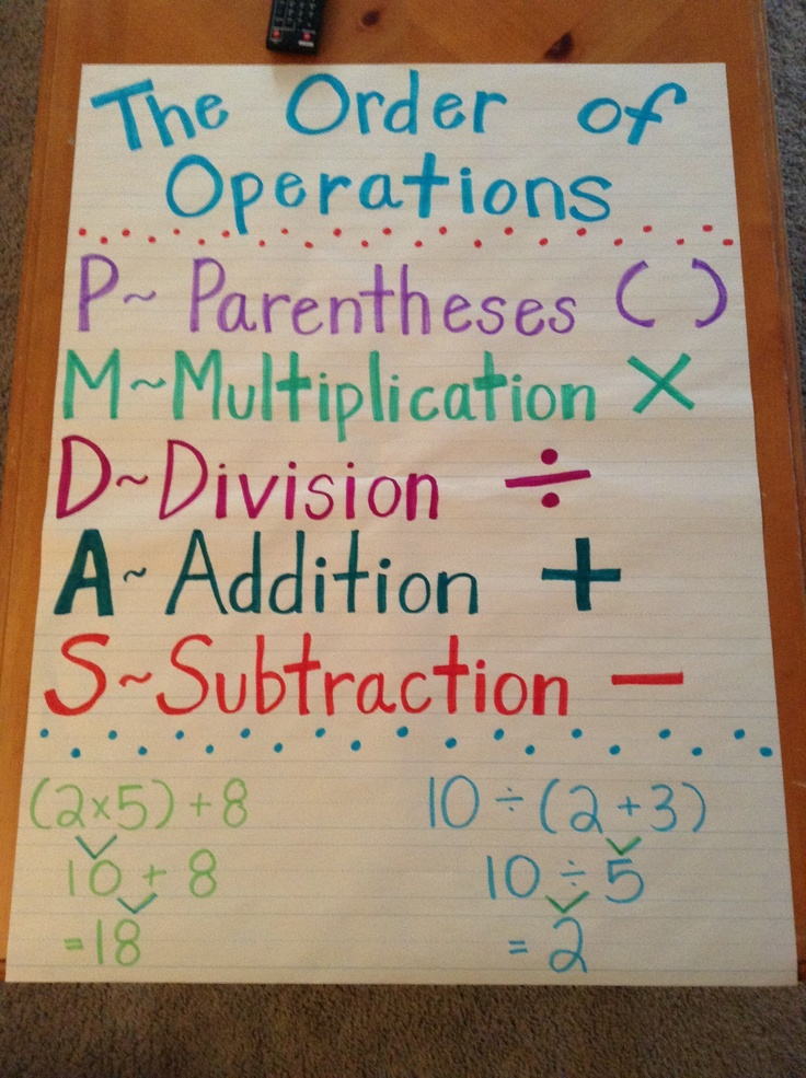 order of operations hard pdf