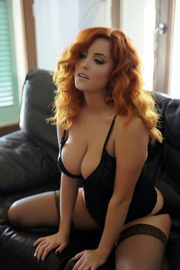 The Islamic Redhead lingerie models