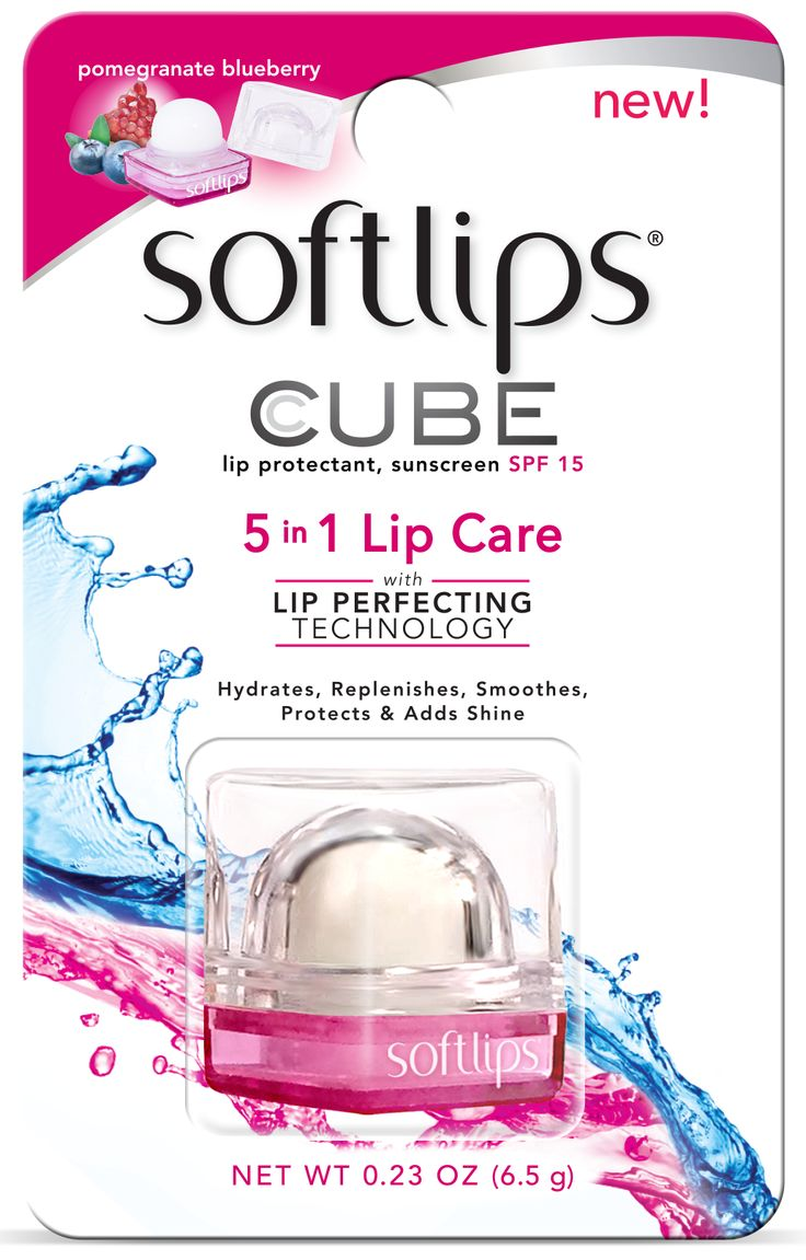 Softlips Cube!  5-in-1 Lip Care softlipsstore.com!