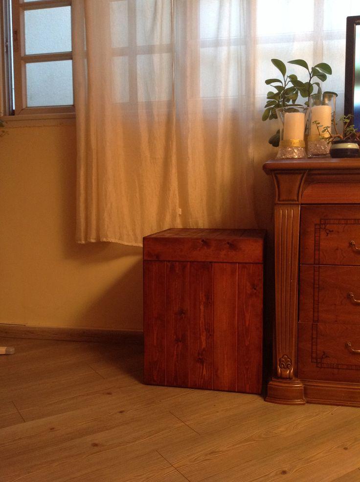 Pallet storage box, DIY | DIY | Pinterest