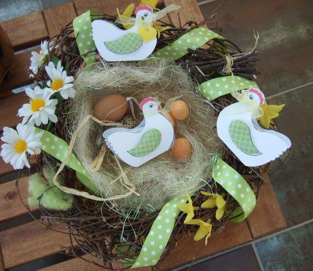 petites poules au nid de p 226 ques diy adulte
