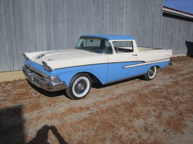 1958 Ford Ranchero Custom Image 1 Of 1 Cars And Trucks