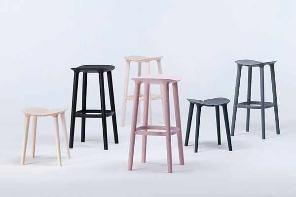 """Osso"" series by Ronan and Erwan Bouroullec for Mattiazzi."