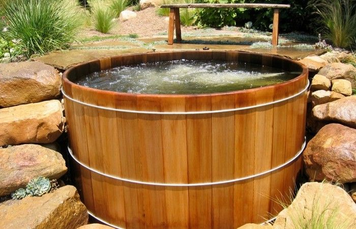 Wooden Hot Tubs Wishful Pinterest