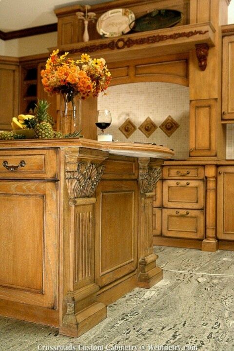 Ornate Trim Kitchen Island House Ideas Pinterest