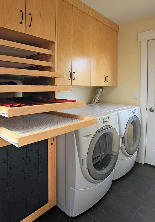 laundry room, sweater drying racks  Home Candy  Pinterest