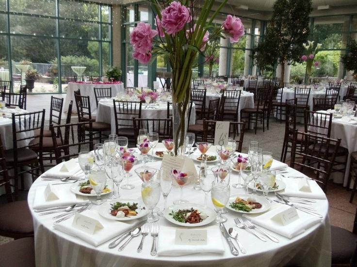 Wedding reception at the atrium at meadowlark botanical - Meadowlark botanical gardens wedding ...