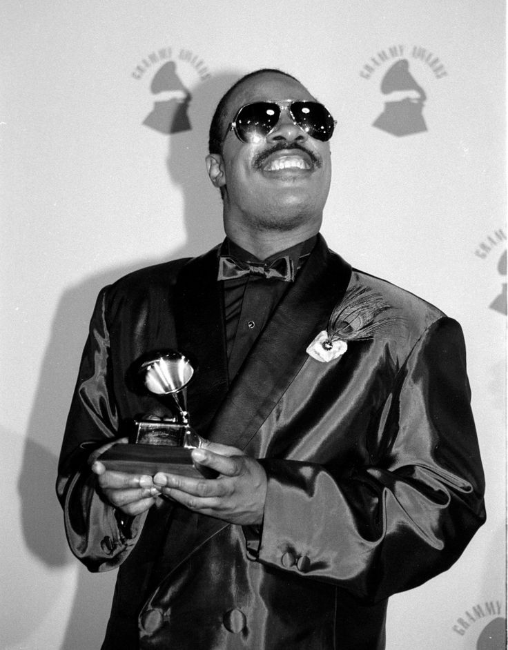 """Stevie Wonder - Albums: 3 Singles: 3 First induction: """"Superstition"""" (1998) Most recent: """"For Once In My Life"""" (2009)"""