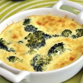 Crustless Broccoli-Cheddar Quiches #healthytimes http ...