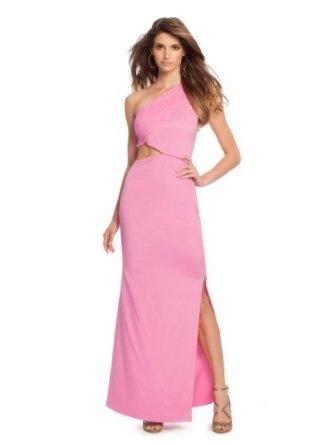 Luxury  Dresses Pink Dress Bridesmaid Dresses Short Dresses Scoopneck