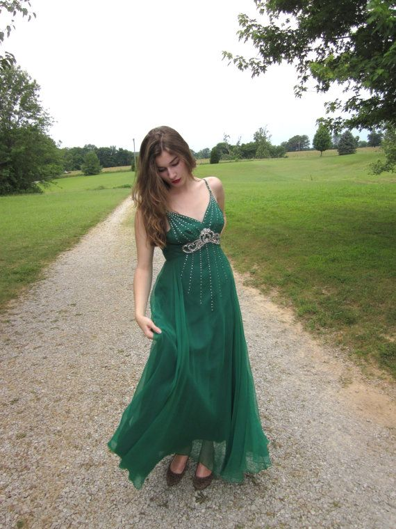 Green Goddess Dress | green envy | Pinterest