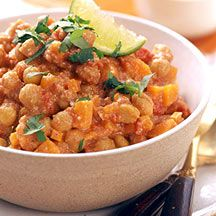 South Indian Curried Chickpeas from Weight Watchers