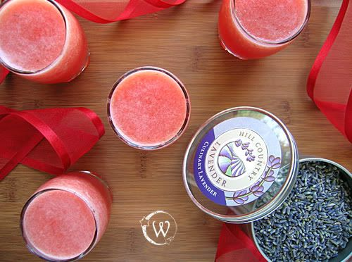 watermelon water with #lavender | Tea, Granita, Smoothie, Drinks, Coc ...